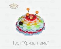 """Торт """"Хризантема"""""""